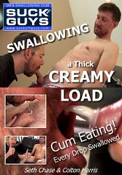 Gay Adult Movie Swallowing A Thick Creamy Load