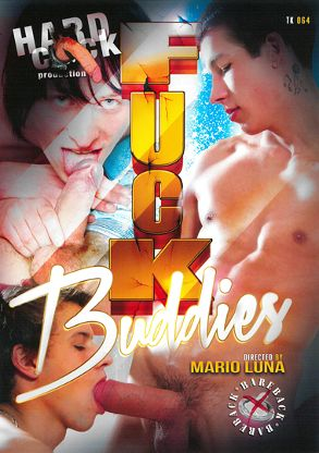 Gay Adult Movie Fuck Buddies - front box cover