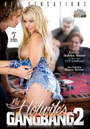 "Featured Studio - New Sensations presents the adult entertainment movie ""My Hotwife's Gangbang 2""."