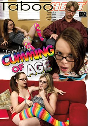 Jenni Bliss In Cumming Of Age, starring Jenni Bliss, Luke Longley and Cory Chase, produced by Taboo Heat.