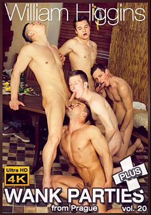 Wank Parties Plus From Prague 20, starring Jirka Mendez, Tony Mark, Petr Zuska, Kail Kopec, Martin Porter and Tom Vojak, produced by William Higgins.