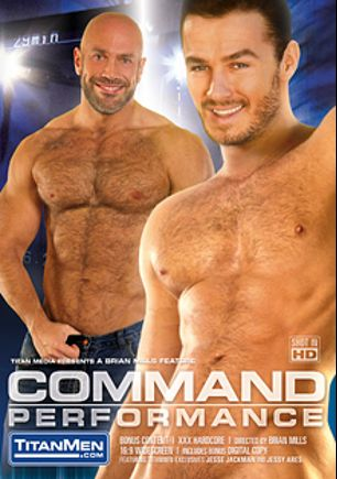 Command Performance, starring Jessy Ares, Marco Wilson, Jesse Jackman, Dario Beck, Cavin Knight, Roman Wright, Junior Stellano and Wilfried Knight, produced by Titan Media.