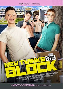 New Twinks On The Block, starring Dakota Wolfe, Seamus O'Reilly, JT Stryder, Gabriel Bossa, Sebastian Rogers, Tyson Stone, Jessie Kale, Daniel Ross, Adrian Rivers, Ian Levine, Jerek Miles, Derrick and Rob, produced by Next Door Twink.