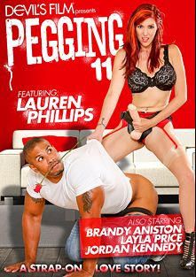 Pegging 11, starring Lauren Phillips, Jordan Kennedy, Layla Price, Robert Christian, Brandy Aniston, Chad Diamond, Wolf Hudson and Marcelo, produced by Devils Film and Devil's Film.