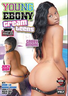 Young Ebony Cream Teens, starring Juicy Dior, Erika Lui, Gabby Amore, Charlie Mac, Jimmy D., Bonnie Amor and Wesley Pipes, produced by Evasive Angles.