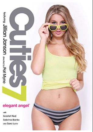Cuties 7, starring Jillian Janson, Scarlet Red, Sara Luvv and Sabrina Banks, produced by Elegant Angel Productions.