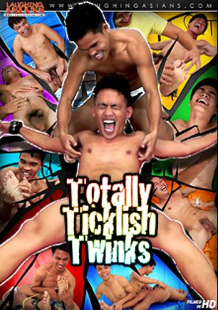 Totally Ticklish Twinks, starring Vahn Valdez, Andrew, Argie, Julius, Jude, Felix, C.J. (m), Jacob, Jordan (m) and Ricky, produced by CJXXX, Laughing Asians and Gay Asian Twinkz.