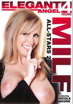 MILF All-Stars 2, starring Daphne Rosen, Nicole Moore, Gianna Michaels, Kandy Kream, Nathan Threat, Sascha Libido, James Deen, Courtney Cummz, Flower Tucci, Sandra Romain, Julie Night, Mark Ashley, Sledge Hammer, Wesley Pipes, Tony T., Brian Surewood and Brandon Iron, produced by Elegant Angel Productions.