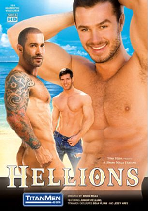 Hellions, starring David Anthony, Jessy Ares, Dirk Caber, Ethan Hudson, Junior Stellano, Spencer Reed and Dean Flynn, produced by Titan Media.