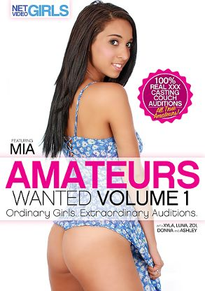 Straight Adult Movie Amateurs Wanted - front box cover