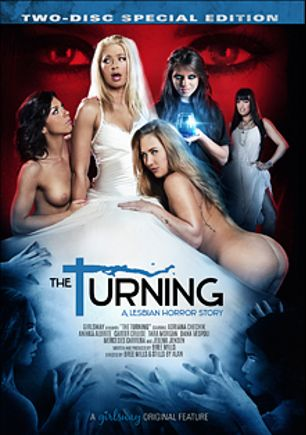 The Turning, starring Carter Cruise, Adriana Chechik, Anikka Albrite, Jelena Jensen, Dana Vespoli, Mercedes Carrera and Tara Morgan, produced by Girlsway.