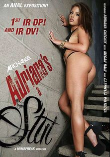 Adriana's A Slut, starring Gabriella Paltrova, Megan Rain, Adriana Chechik, Prince Yahshua, Criss Strokes, Jordan Ash, Rico Strong and Sean Michaels, produced by ArchAngel.