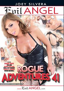Rogue Adventures 41, starring Sienna Grace, Vivian Rockwell, Gisele Bittencourt, Trillium, Mike Panic, Gabriella Andrade, Kendra Sinclair, Robert Axel, Alex Victor and Tony Lee, produced by Joey Silvera Video and Evil Angel.