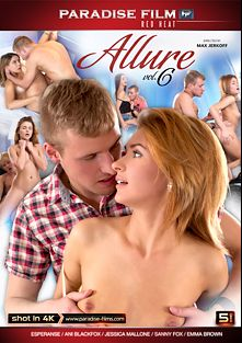 Allure 6, starring Ani Black Fox, Esperanse, Emma Brown, Sanny Fox and Jessica Malone, produced by Paradise Film.
