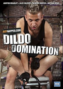 Boynapped 40: Dildo Domination, starring Nathan Gear, James Lain, Casper Ellis, Levi Stephans, Deacon Hunter, Alex Silvers and Sebastian Kain, produced by BoyNapped.