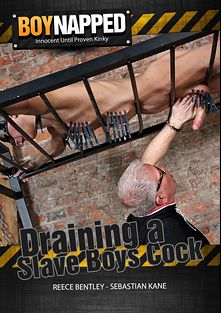 Boynapped 474: Draining A Slave Boys Cock, starring Reece Bentley and Sebastian Kain, produced by BoyNapped.
