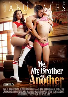 Me, My Brother And Another, starring Elsa Jean, Marley Brinx, Megan Rain, Samantha Hayes, Karla Kush, Cadence Lux, Karmen Karma, Chad White, Jenna J. Ross, Chad Alva, Tommy Pistol and Anthony Rosano, produced by Digital Sin.