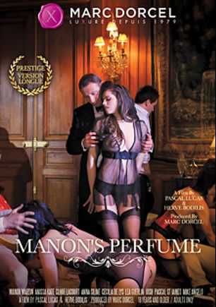 Manon's Perfume, starring Cecilia De Lys, Manon Martin, Josh (Marc Dorcel), Lea Guerlin, Chloe Lacourt, Anissa Kate, Dean Van Damme, Max Casanova, Rico Simmons, Paolo Harver, Mike Angelo and Pascal St. James, produced by Marc Dorcel SBO and Marc Dorcel.