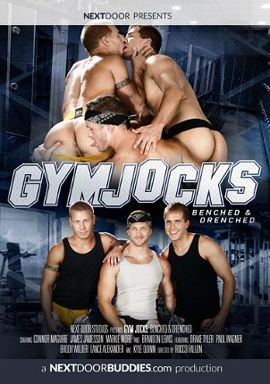 Gay Adult Movie Gym Jocks: Benched And Drenched