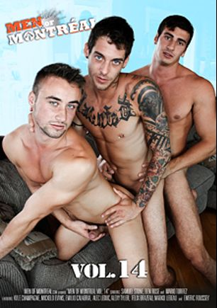 Men Of Montreal 14, starring Marko Lebeau, Emilio Calabria, Samuel Stone, Kyle Champagne, Mario Torrez, Felix Brazeau, Mick Stallone, Alec Leduc, Ben Rose and Alexy Tyler, produced by Men Of Montreal.
