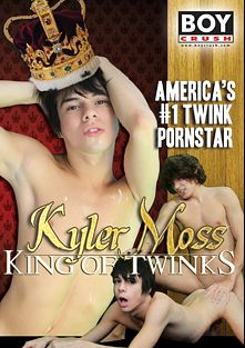 Kyler Moss: King Of Twinks, starring Andrew Austen, Kyler Ash, Elijah White, Jacob Marteny, Kyler Moss and Miles Pride, produced by Boy Crush.