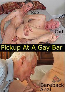 Pickup At A Gay Bar, starring Rob Thomas (Hot Dicks Video) and Carl Hubay, produced by Hot Dicks Video.