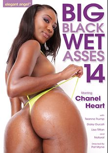 Big Black Wet Asses 14, starring Chanell Heart, Natural, Lisa Tiffian, Teanna Trump, Daisy Ducati, Prince Yahshua and Rico Strong, produced by Elegant Angel Productions.