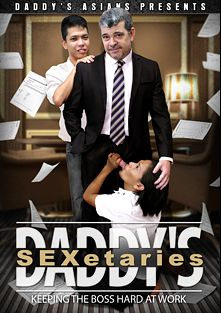 Daddy's SEXetaries, starring Freddy and Mike *, produced by Daddys Asians and CJXXX.
