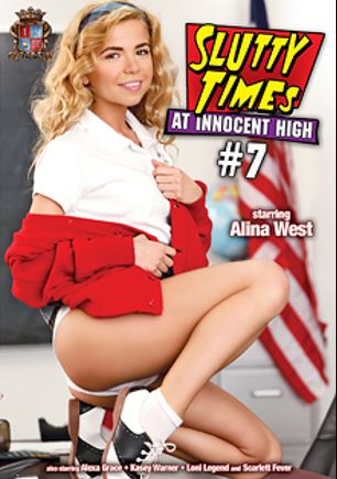 Slutty Times At Innocent High 7, starring Alina West, Loni Legend, Kasey Warner, Alexa Grace, Ryan McLane, Chad Diamond, David Loso and Scarlett Fever, produced by Innocent High.