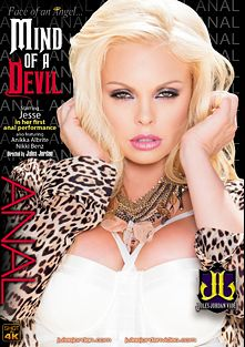 Face Of An Angel... Mind Of A Devil, starring Jesse Jane, Anikka Albrite, Criss Strokes, Nikki Benz, Mick Blue and Jules Jordan, produced by Jules Jordan Video.