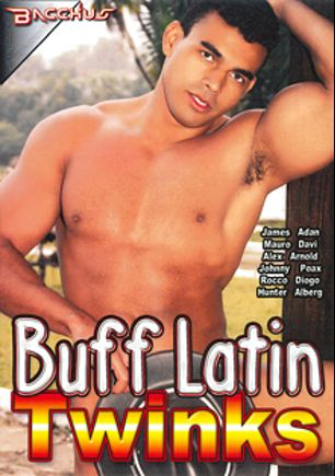 Buff Latin Twinks, starring Poax Lenehan, Alberg, Adan, Davi, Arnold, Diego, Hunter (m), Johnny, Rocco and Alex, produced by Bacchus.