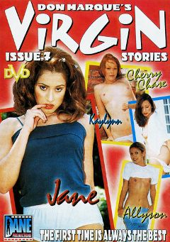 "Adult entertainment movie ""Virgin Stories 7"" starring Kaylynn, Allysin Chaynes & Jane Lix. Produced by Dane Productions."