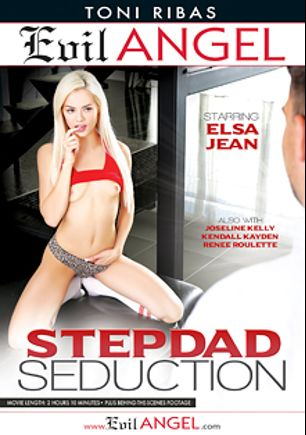 Stepdad Seduction, starring Elsa Jean, Joseline Kelly, Kendall Kayden and Renee Roulette, produced by Evil Angel and Toni Ribas Productions.