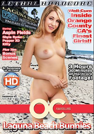 OC Amateurs: Laguna Beach Bunnies, starring Aspin Fields, Shyla Ryder, Pepper XO and Kitty Jung, produced by Lethal Hardcore.