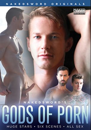 Gods Of Porn, starring Darius Ferdynand, Killian James, Logan Moore, Sebastian Kross, Gino Mosca, Chris Harder, Adam Ramzi, Ryan Rose, Duncan Black, Brent Corrigan and Brandon Moore, produced by NakedSword Originals.