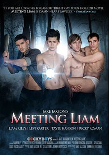 Meeting Liam, starring Liam Riley, Tayte Hanson, Levi Karter, Ricky Roman and Michael Milano, produced by Cockyboys.