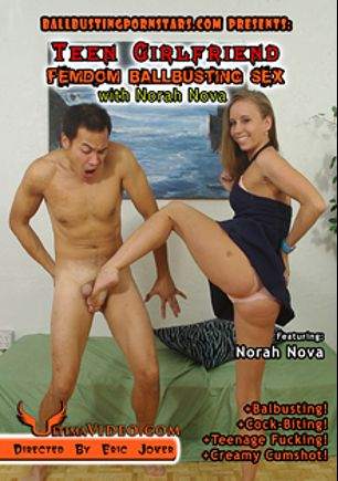 Teen Girlfriend Femdom Ballbusting Sex, starring Norah Nova and Eric Jover, produced by Ultima Entertainment.