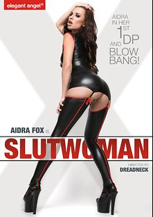 Aidra Is Slutwoman, starring Aidra Fox and Katrina Jade, produced by Elegant Angel Productions.