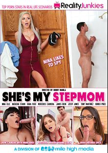 She's My Stepmom, starring Nina Elle, Mercedes Carrera, Romeo Price, Jessy Jones, Dana Fox, James Deen, Natasha Starr and Tony Martinez, produced by Mile High Media and Reality Junkies.