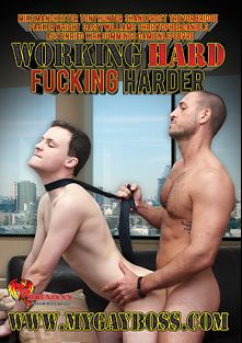 Working Hard Fucking Harder, starring Tony Hunter, Damien Lefebvre, Mike Manchester, Parker Wright, Austin Reid, Trevor Bridge, Christopher Daniels, Kirk Cummings, Shane Frost and Casey Williams, produced by Phoenixxx and PornPlays.