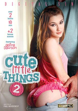 Cute Little Things 2, starring Alaina Dawson, Lucy Doll, Karla Ambrosia, Kira Adams, Chad White, Jordan Ash, Ramon Nomar and Toni Ribas, produced by Digital Sin.