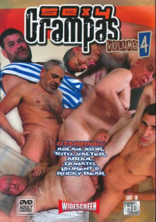Sexy Grampas 4, starring Aslan, Abdul, Igor, Donato, Laurent, Rocky Bear, Toto and Valter, produced by Older4Me.