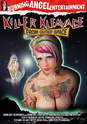 Killer Kleavage: From Outer Space, starring Sheridan Love, Axis Evol, Vyxen Steel, Veronica Rose, Michael Vegas, Bill Bailey, Seth Gamble, Jessie Lee, Tommy Pistol and Mr. Pete, produced by Burning Angel.