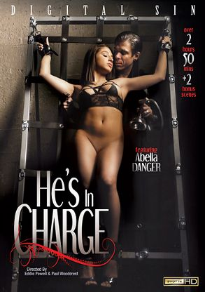 Straight Adult Movie He's In Charge - front box cover