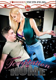 Temptation At Home, starring Alexis Fawx, Rion King, Brad Knight, T Stone, Angie Noir, Jodi West, Tony Rubino, Amber Lynn Bach and Johnny Castle, produced by Forbidden Fruits Films.