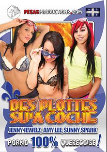 Des Plottes Sua Coche, starring Jenny Jewelz, Sunny Spark and Amy Lee, produced by Pegas Productions.