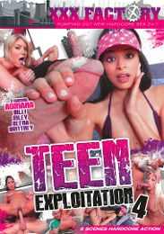 "Just Added presents the adult entertainment movie ""Teen Exploitation 4""."