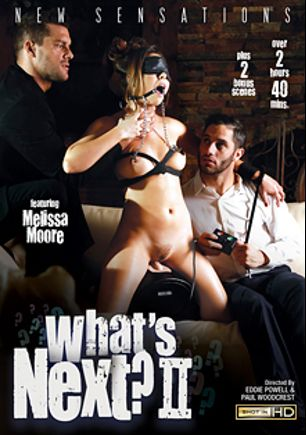What's Next 2, starring Abella Danger, Melissa Moore, Lyra Louvel, Aubrey Gold, Marley Brinx, Damon Dice, Jordan Ash, Stallion, Tommy Pistol, Anthony Rosano and Ramon Nomar, produced by New Sensations.