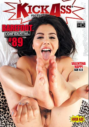 Barefoot Confidential 89, starring Valentina Nappi, Samantha Hayes, Kasey Warner, Alexa Grace, Kacy Lane, Mickey Mod and Kurt Lockwood, produced by Kick Ass Pictures.
