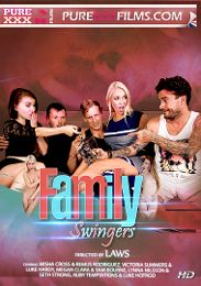 "Featured Studio - Purexxxfilms presents the adult entertainment movie ""Family Swingers""."